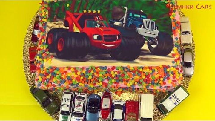 Машинки Cars Торт с машинками вспыш и чудо машинки торт с машинками для мальчиков 2017