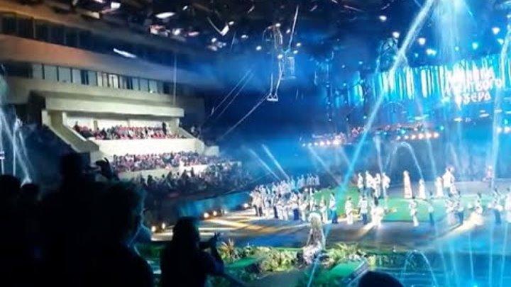 """Супершоу братьев Запашных 2016. Шоу """"Хозяйка мертвого озера""""."""