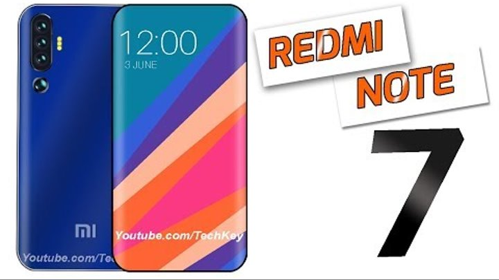 Xiaomi Redmi Note 7 - 53MP 4 DSLR Camera, MIUI 10, 5G Network,10 GB RAM & 256GB Storage !