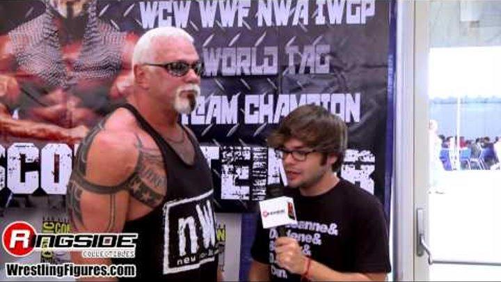 BIG POPPA PUMP, SCOTT STEINER SDCC 2014 Mattel WWE Figure Interview wrestling figures