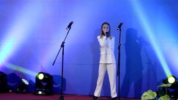 """Данэлия Тулешова - Send My Love/ Adele cover/ Национальная премия """"Народный любимец 2017"""""""