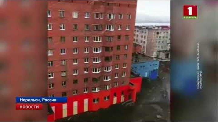 На севере Красноярского края выпал снег