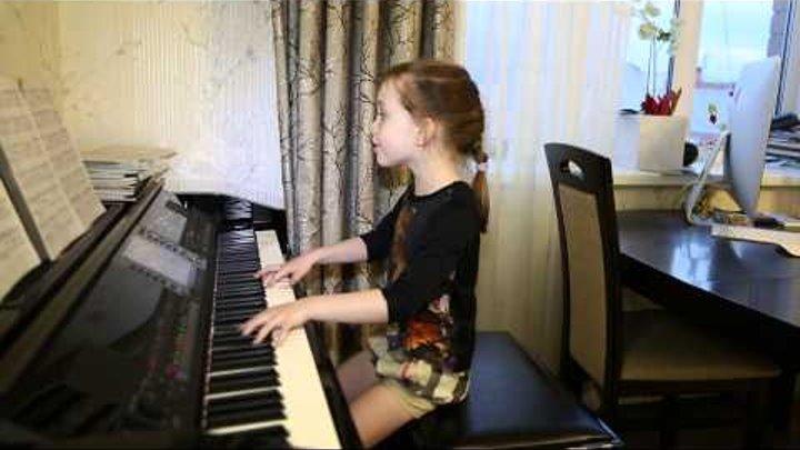 """""""Лифт"""" (Пицца cover). Дети поют. Виктория Викторовна 6 лет"""