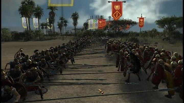 Total War: Rome 2 - Multiplayer - Hardcore - Крестоносец тащит