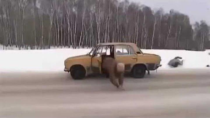 Тайная стража (2005) 2-3 серия - car chase scene
