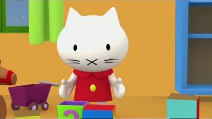 Котёнок Мусти - Любимые мультики малышей. Все серии подряд. Развивающие мультфильмы.
