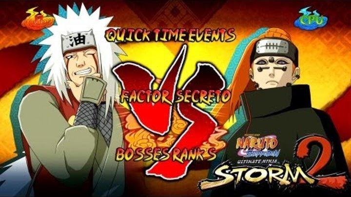 Naruto Shippuden: Ultimate Ninja Storm 3 1080p Boss 8 Pain Rank S | Jiraiya vs Pain