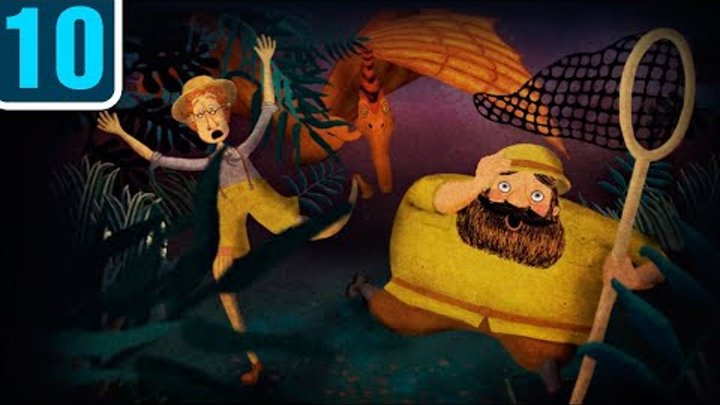 Волшебный фонарь - Очень затерянный мир - Серия 10 - классика детям