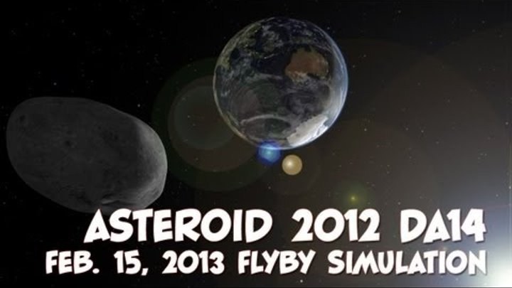 Asteroid 2012 DA14 - NASA Eyes on the Solar System