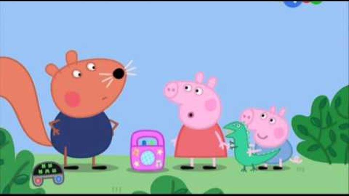 Мультик Свинка Пеппа 3 сезон 44 серия - Взрослые друзья Хлои.