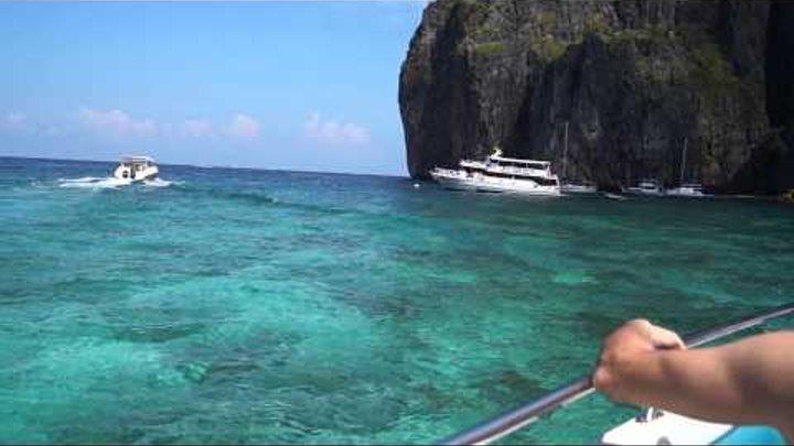 Тайланд Пхукет бухта острова где снимали фильм Пляж с ДиКаприо