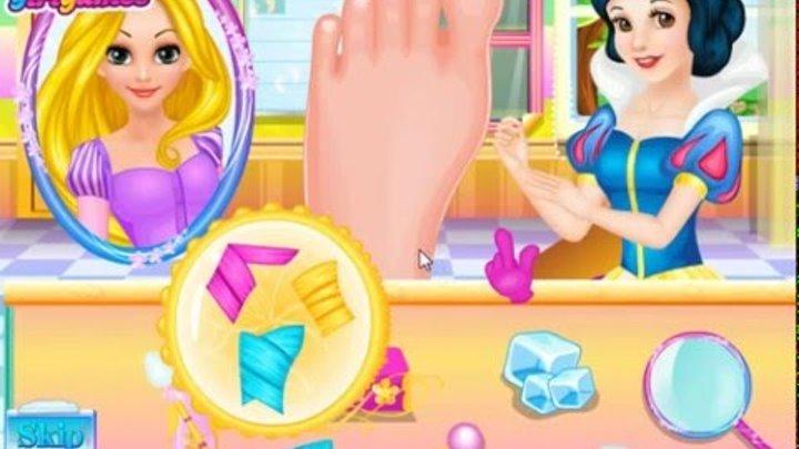Белоснежка доктор Рапунцель Мультики для девочек Princess Disney