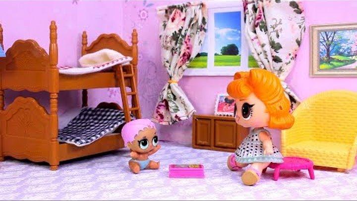 Куклы ЛОЛ СМЕШНЫЕ ВИДЕО 7 Мультики #Игрушки и Сюрпризы с Лалалупси Вероника