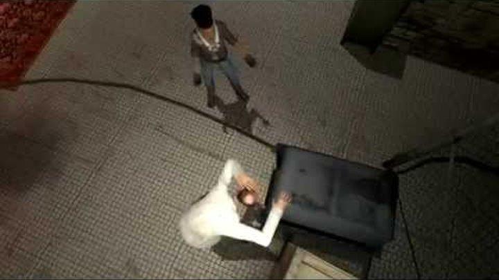 Half-Life 2 Баги и приколы а так же битва в конце!