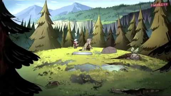 Гравити Фолз 2 сезон 17 серия Часть-2
