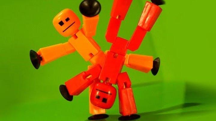 StikBot Studio - Stop Motion Анимация - Мультики для Детей - Стикботы - Обзор