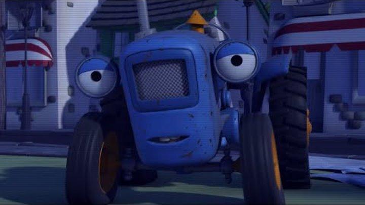 Олли Веселый грузовичок - Мультик про машинки - Тайна бамптонского привидения - Серия 55 (Full HD)