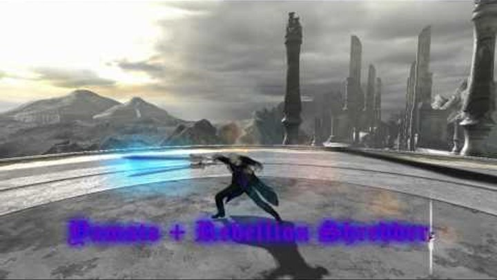 Devil May Cry 4 - Vergil Fighting Techniques (Motion Mod)