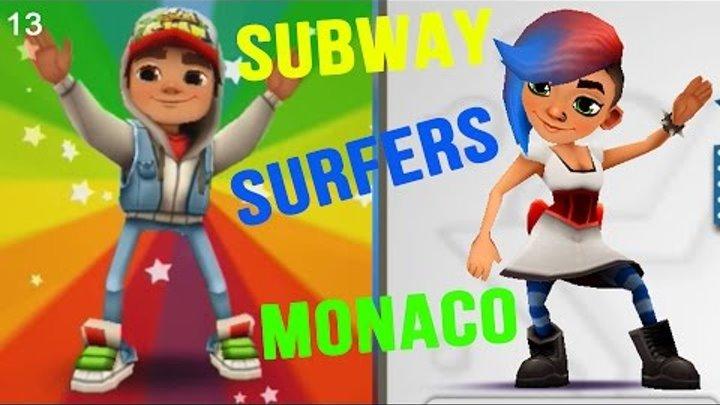 Мультики для детей Subway Surfers Максим играет в детские игры новые видео для детей #013