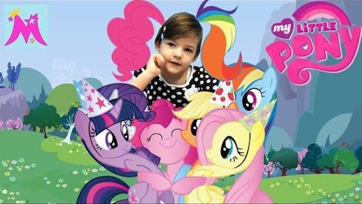 Картина из пайеток Май Литл Пони My Little Pony творческий набор для детей Креатив Принцесса Майя