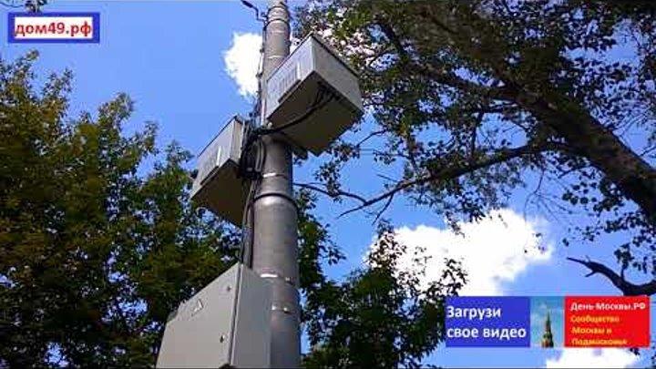 Вышка сотовой связи рядом с домом 2 корпус 1-3 по улице 1 я Крестьянская, Мытищи