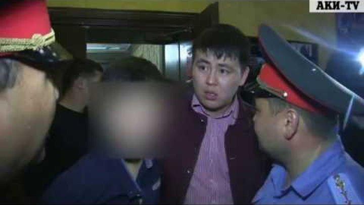 В ночном клубе «Ала Тоо» столицы задержали двоих пьяных 9 классников