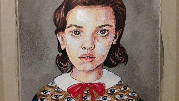 Stranger Things: Eleven (Millie Bobby Brown) | Drawing Timelapse