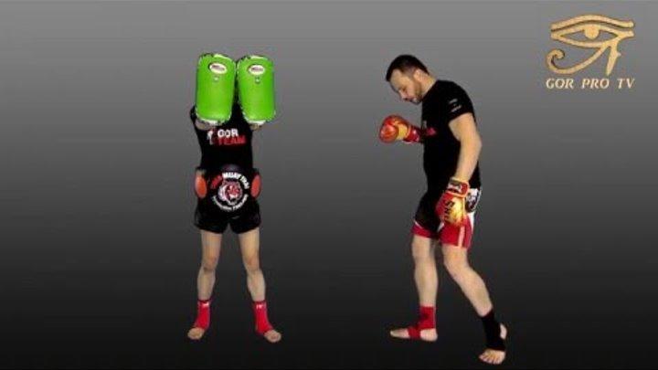 """Урок Тайского бокса от Родиона Гор """"Хай-кик"""""""