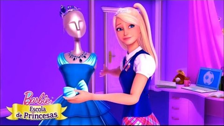 Barbie Escola de Princesas | Topo do Mundo - Videoclipe♫