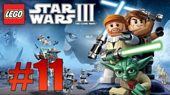 Lego Star Wars 3: The Clone Wars - Ch. 6 Grievous Intrigue - Part 11