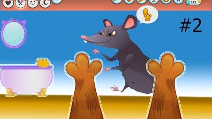 КОТЕНОК БУББУ #2 - Мой Виртуальный Котик - Bubbu My Virtual Pet мультик для детей #ПУРУРУМЧАТА
