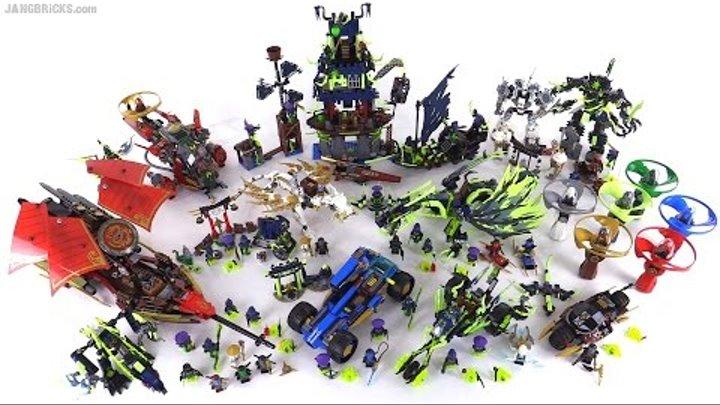 Наборы Лего ниндзяго 5 сезон