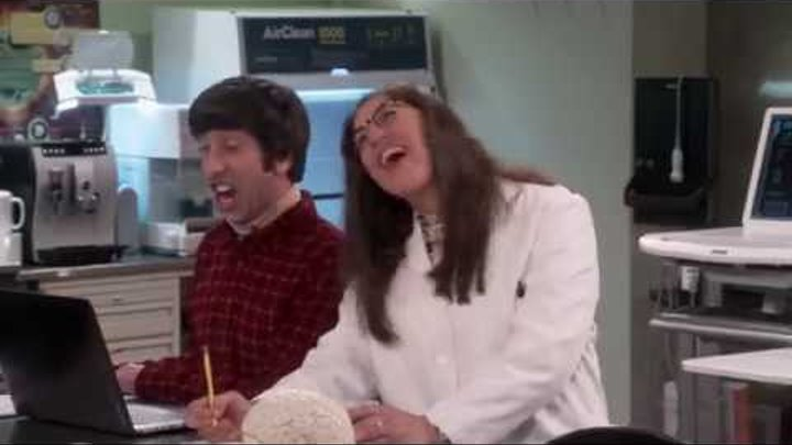 Когда Эми и Говард работают вместе))) (Теория Большого Взрыва)