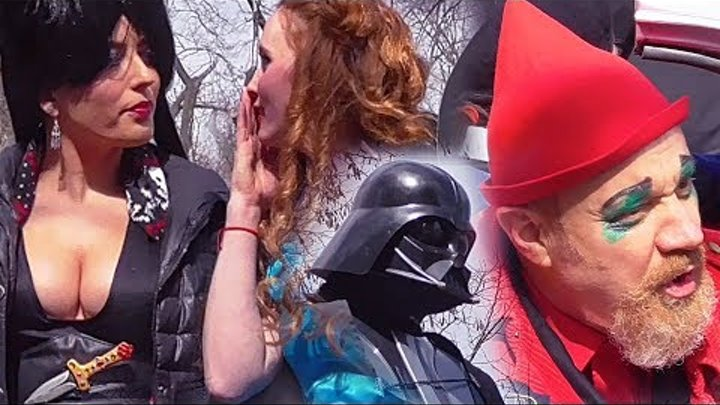 ODESSA FULL 1St APRIL FOOLS PARADE, HUMORINA 2018 / Весь Парад, Юморина 2018, Одесса, 1-е апреля