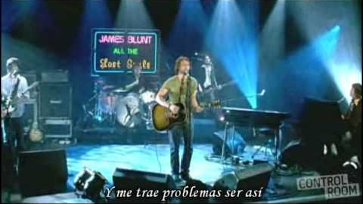 SAME MISTAKE - James Blunt (Subtitulado en ESPAÑOL / ENGLISH Subtitles)