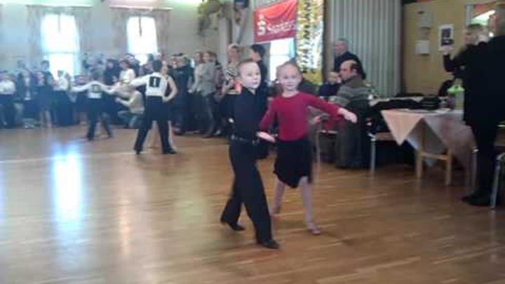 Tanec chachacha Denis und Anastasia.3gp