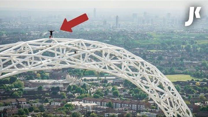Climbing Wembley Arch | James Kingston: POV Adventures |