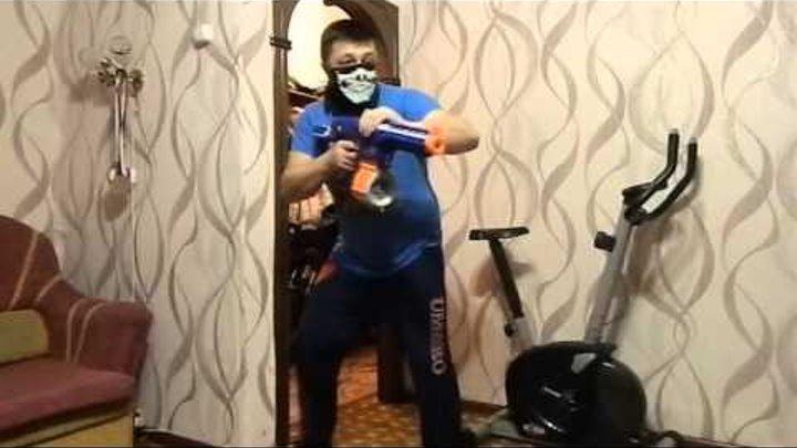 Нёрф Война на Русском;Ограбление:NERF WAR Robbery