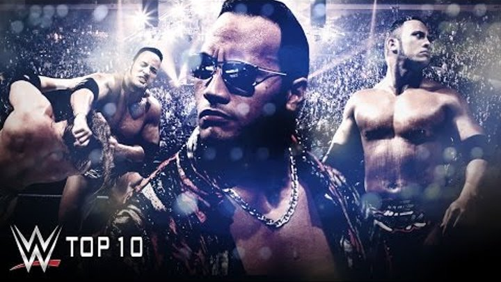 The Rock Layeth the SmackDown on WWE Top 10 - WWE Top 10