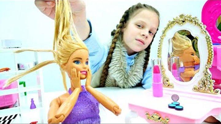 Салон красоты: Барби и СПА уход. Игры для девочек