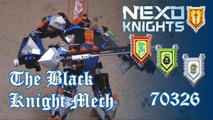 [ОБЗОР ЛЕГО] NEXO KNIGHTS 70326 Робот Черный Рыцарь