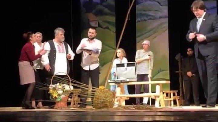 «Останній гречкосій» (Ніжин). «Слов'янські театральні зустрічі» Чернігів