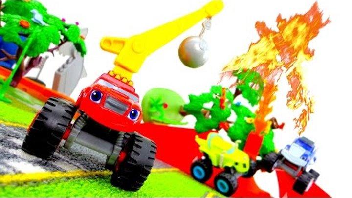 Видео для детей: машинки Вспыш, Крушила и Зэг. Авария. Герои мультфильма Вспыш и чудо-машинки