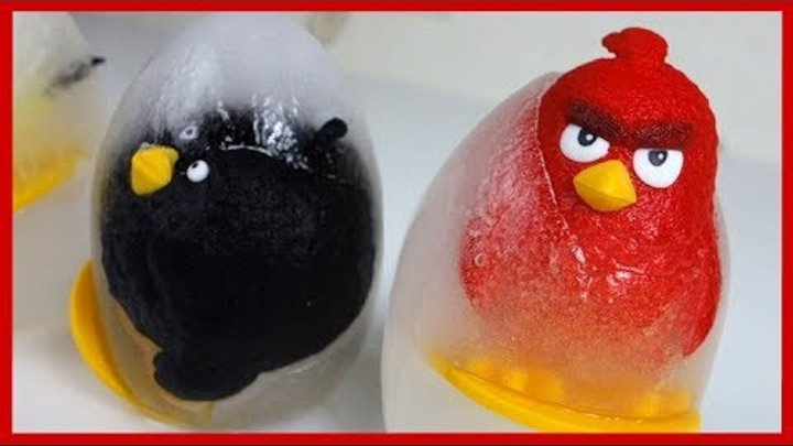 ЗЛЫЕ ПТИЧКИ против СВИНА. 1 серия. Энгри Бердс. Angry Birds. Киндер сюрприз.