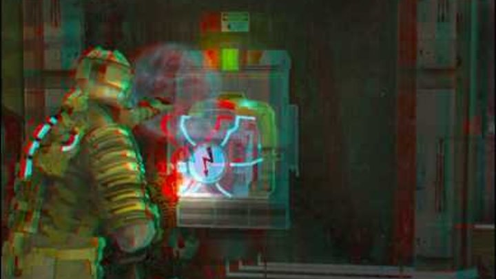Dead Space : Anaglyph 3D (Red/Cyan) AMAZING!!!