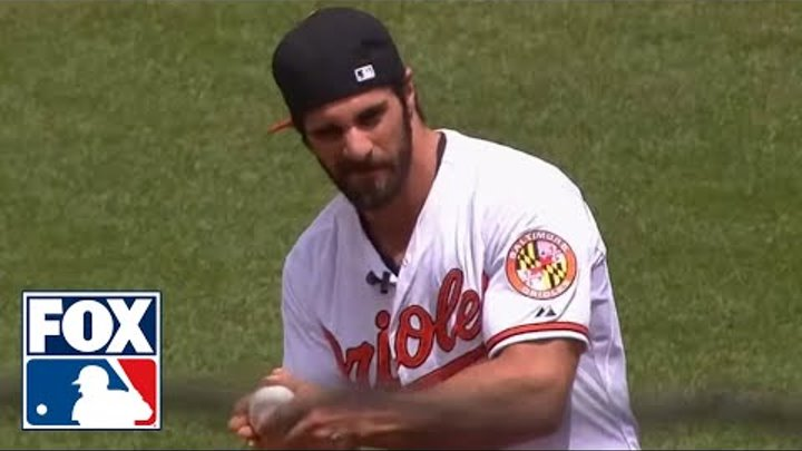 WWE Champ Seth Rollins Throws Out First Pitch Before Orioles Game