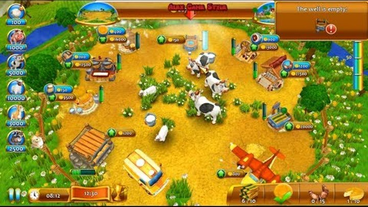 Farm Frenzy 4 (Confectioner Level 5) only GOLD Веселая ферма 4 (Кондитер  Уровень 5) Золото