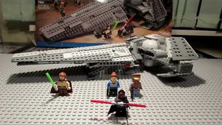 Lego Star Wars 7961 Darth Maul's Sith Infiltrator Review