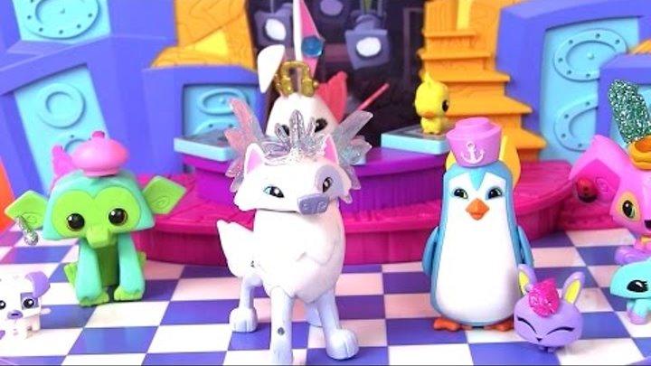 Игры для Детей Animal Jam. Результаты Конкурса. Игровой Набор CLUB GEOZ DANCE PARTY Распаковка