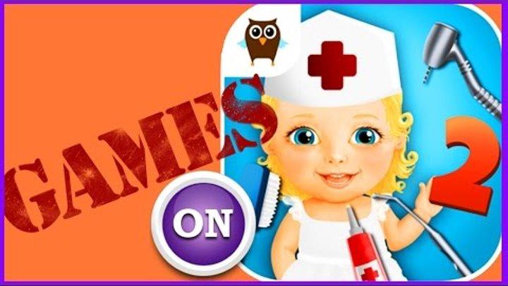 Мультик Игра для детей Sweet Baby Girl Hospital 2 дети играют в больничку хождение игры видео 2016